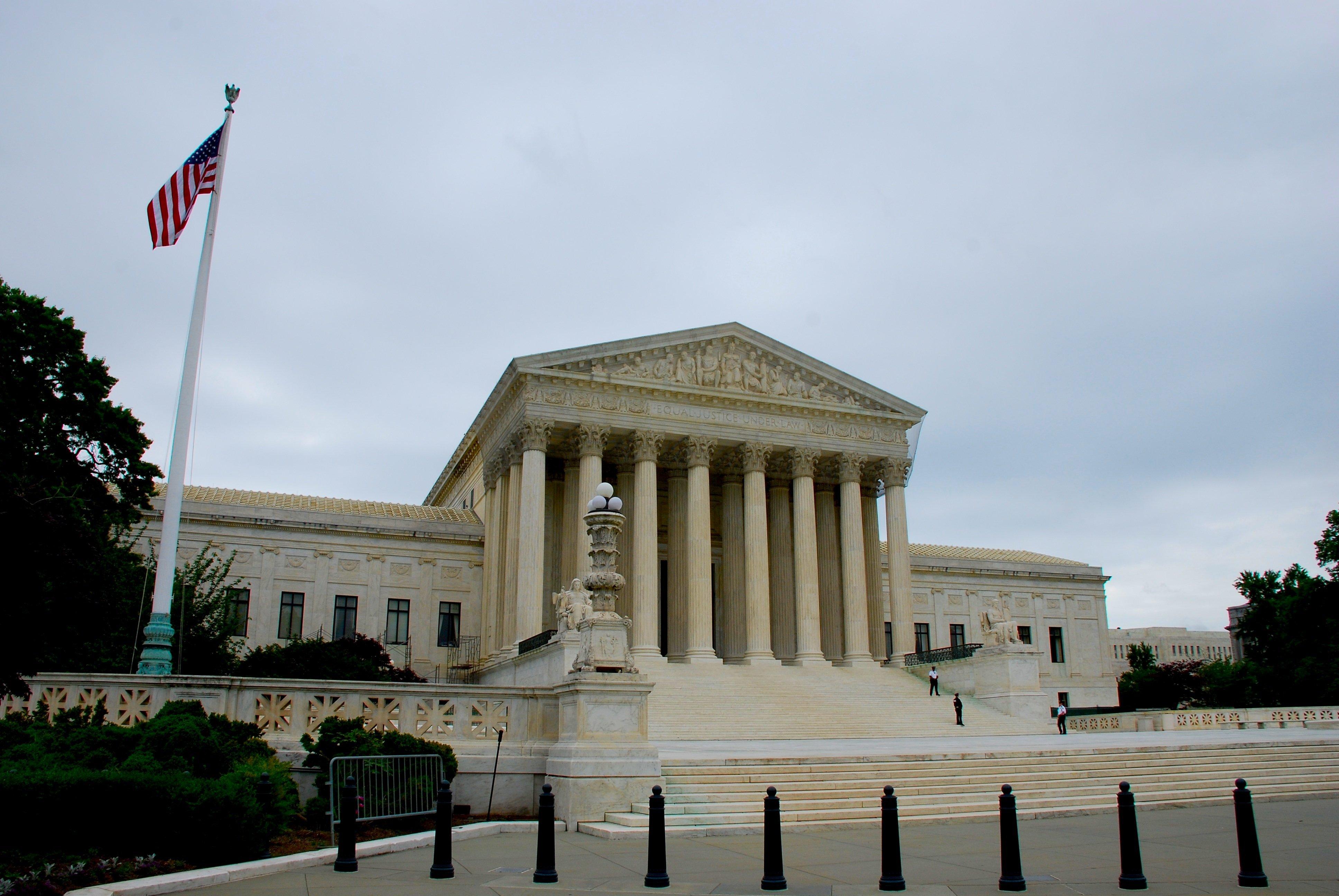 The U.S. Supreme Court in Washington, DC. (photo credit: Chris Turner/CNN)