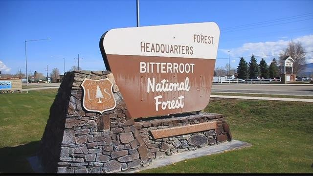 Bitterroot National Forest office in Hamilton. (MTN News photo)