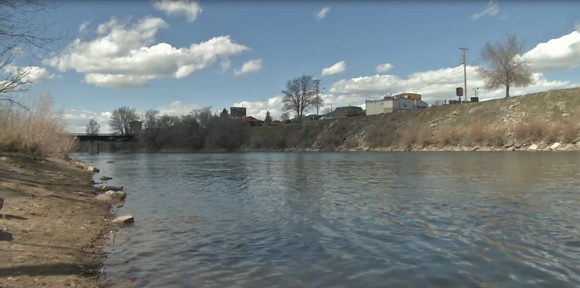 A body was found by rafters near the Reserve Street Bridge. (MTN News file photo)