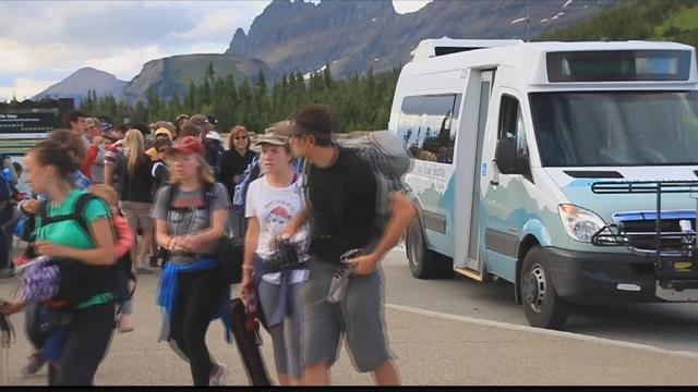 For the first time ever, Glacier NP topped 1 million visitors in a month. (MTN News file photo)