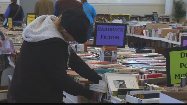 The annual Used Book Sale Extravaganza has thousands of books for people of all tastes. (MTN News file photo)