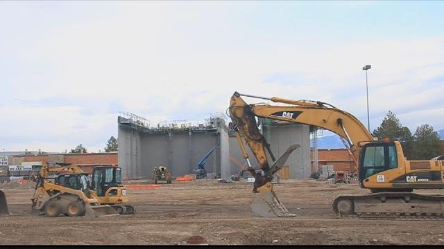The $64 million project has been moving along rapidly. (MTN News photo)
