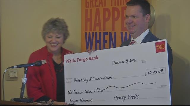 A $10,000gift from the Wells Fargo Foundation provides a robust fund to help with normalizing the process of getting help.
