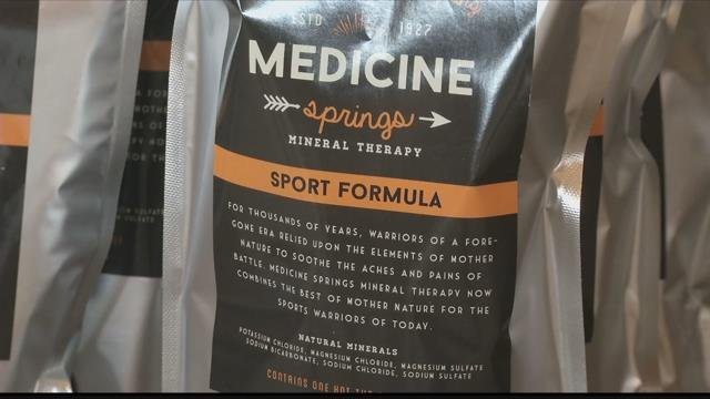 What started with packaging the minerals and passing it out to family and friends has now led to three different formulas being sold across Montana. (MTN News photo)