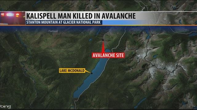 Skier Killed in Glacier National Park Avalanche Identified