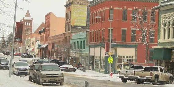 Butte's homeless shelter on East Second Street is unsafe and must be abandoned. (MTN News photo)