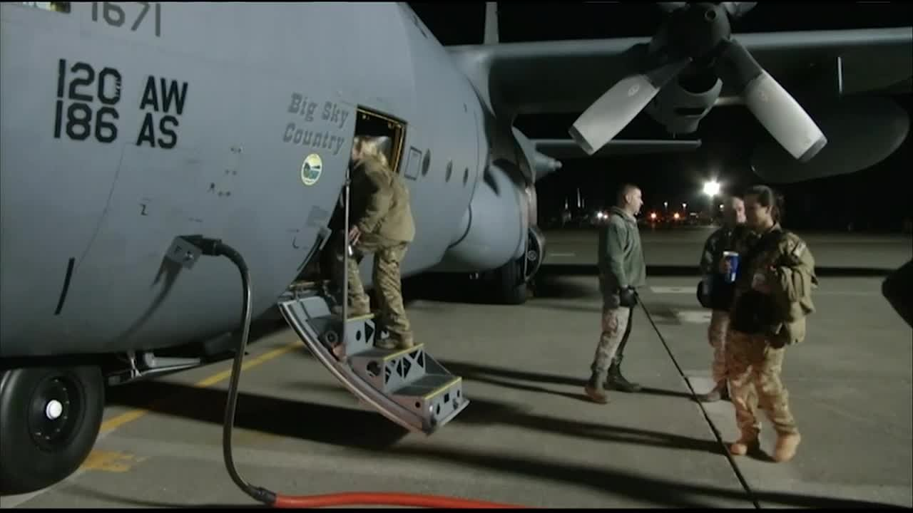 The 120th Airlift Wing was assigned to the 386th Air Expeditionary Wing and participated in Operation Inherent Resolve. (MTN News photo)