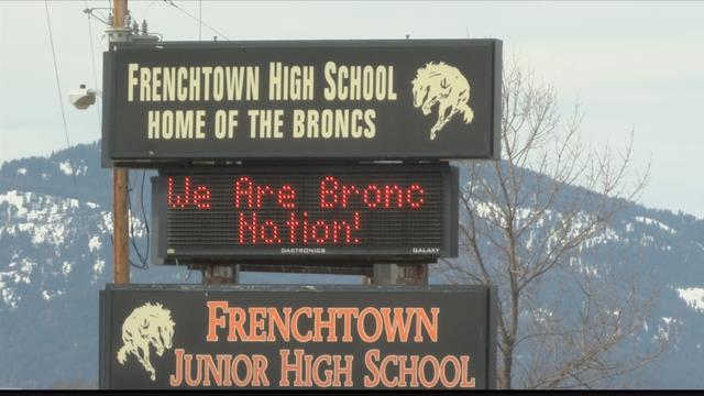 Frenchtown High School (MTN News photo)