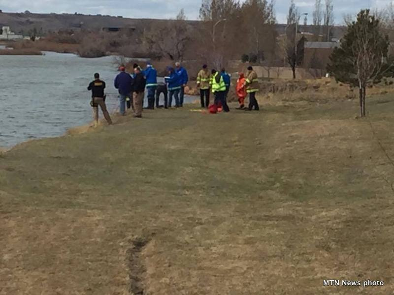 Officials are now calling the body recovered in the Missouri River in Great Falls on Sunday suspicious. (MTN News photo)