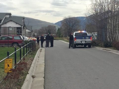 The incident was reported Wednesday morning on Milwaukee Way in Missoula. (Don Fisher/MTN News photo)