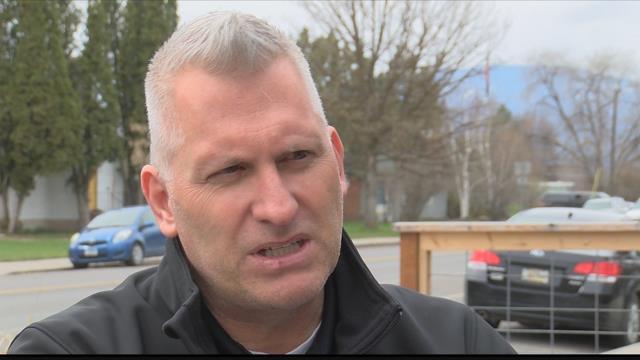 Missoula County Sheriff's Office chaplain Lowell Hochhalter (MTN News photo)