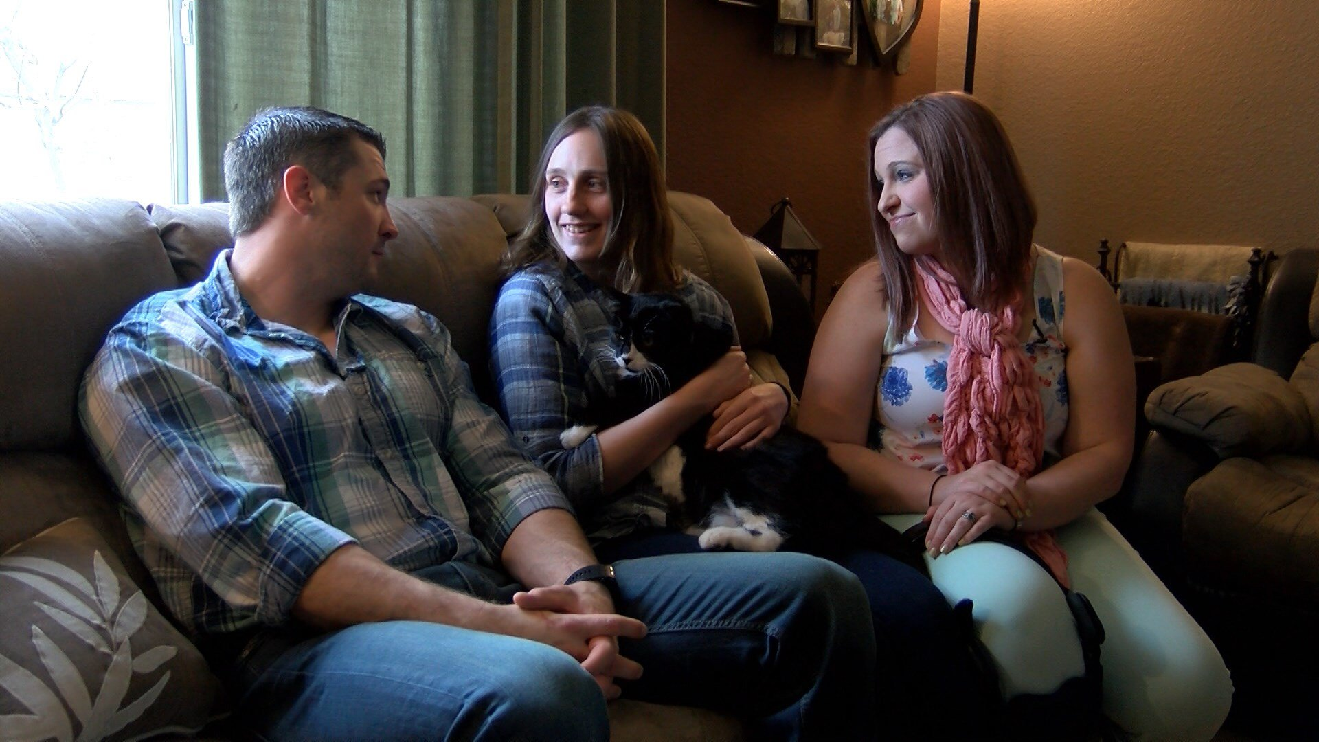 The couple says after completing the process, they now hope those looking to adopt an adult with a disability in the future wont feel alone. (MTN News photo)