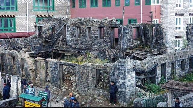 Nepal has been slow to repair itselfafter a magnitude 7.8 earthquake struck the area in April 2015.
