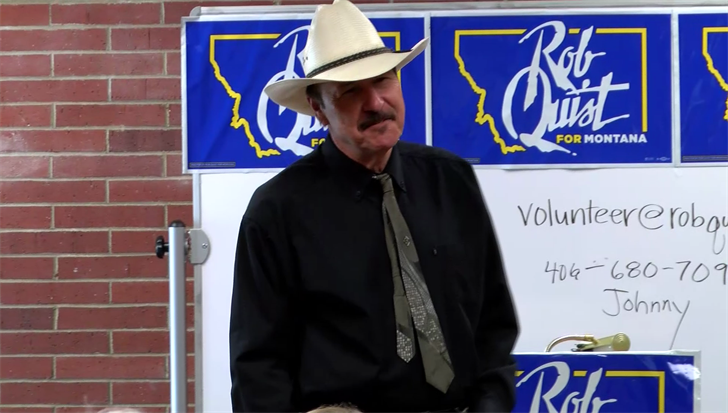 Democratic candidate Rob Quist (MTN News photo)