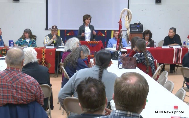 The Little Shell Tribe held their quarterly meeting in Great Falls over the weekend. (MTN News photo)