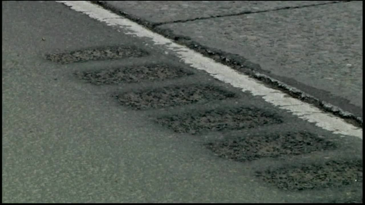 A study by the Federal Highway Administration found the center line rumble strips are an effective way to reduce crashes. (MTN News photo)
