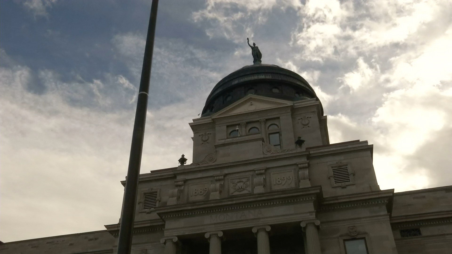 The Montana State Capitol building in Helena (MTN News photo)