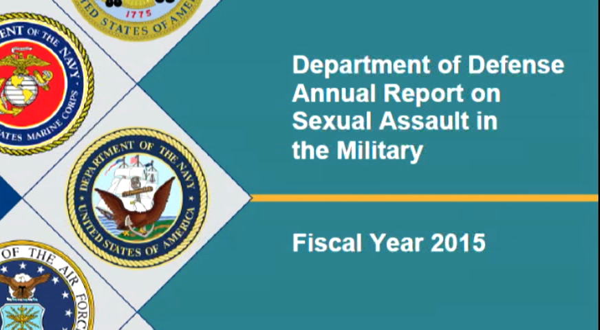 A 2015 Department of Defense study found more than 6,000 cases of reported sexual assaults in the armed forces.
