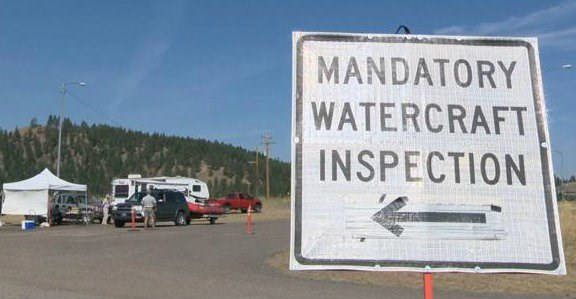 Remember it is still mandatory to stop at all inspection stations when transporting your boat, whether it is motorized or not.