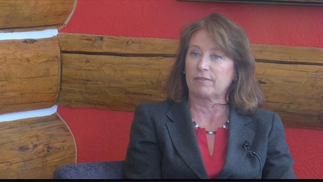 Missoula mayorial candidate Lisa Triepke (MTN News photo)