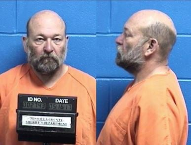 Lloyd Montier Barrus, 61, is being held on a felony deliberate homicide charge. (MCSO photo)