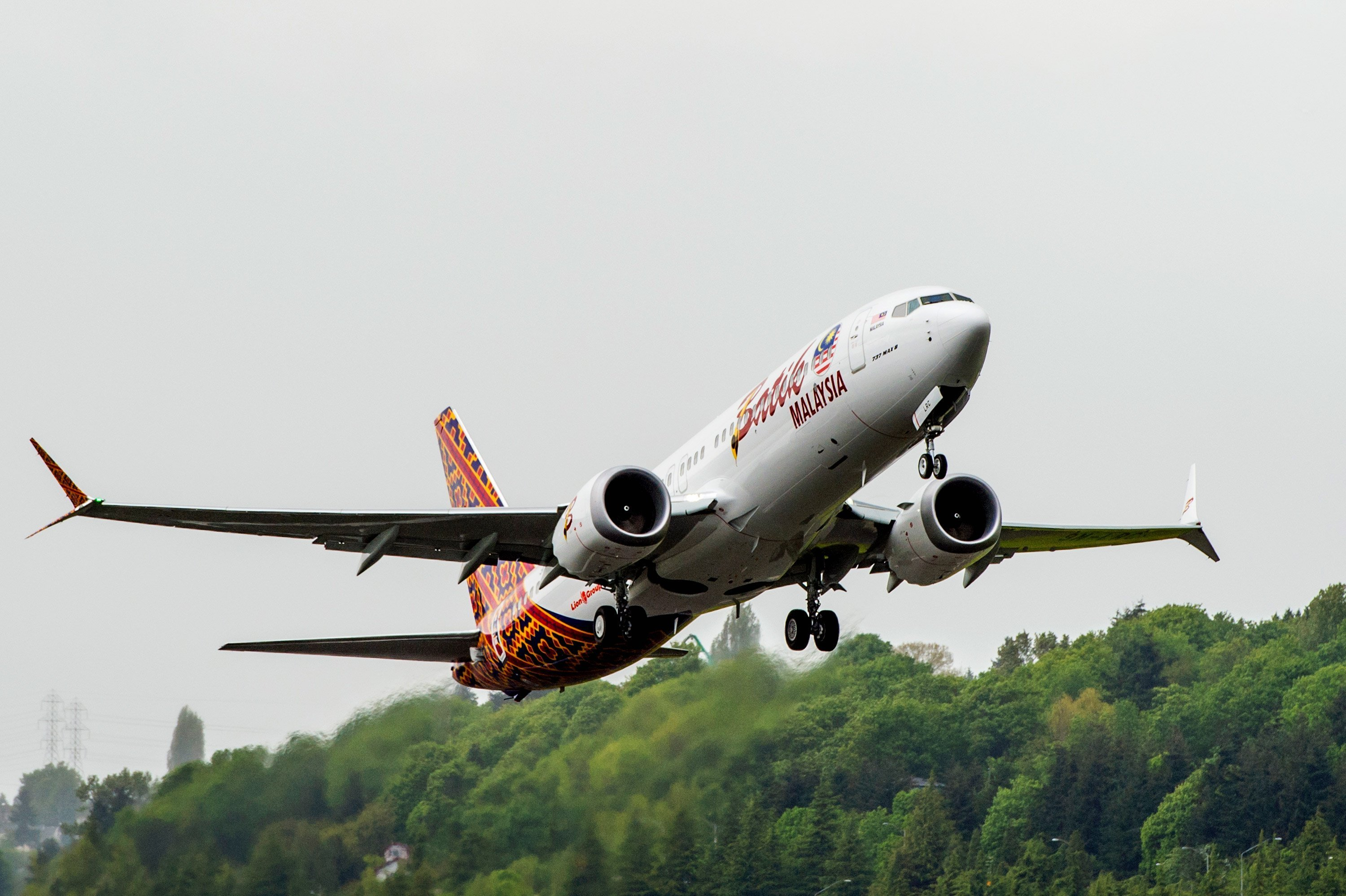 Boeing on Tuesday delivered the first 737 Max to Malindo Air of Malaysia. (credit: from Boeing)