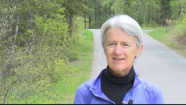 """""""If thereis a problem on this road it will be our county taxes,"""" said West Glacier resident Elizabeth Blacker."""