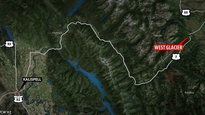 The head-on crash happened on U.S. Highway 2 near mile marker 157. (MTN News image)