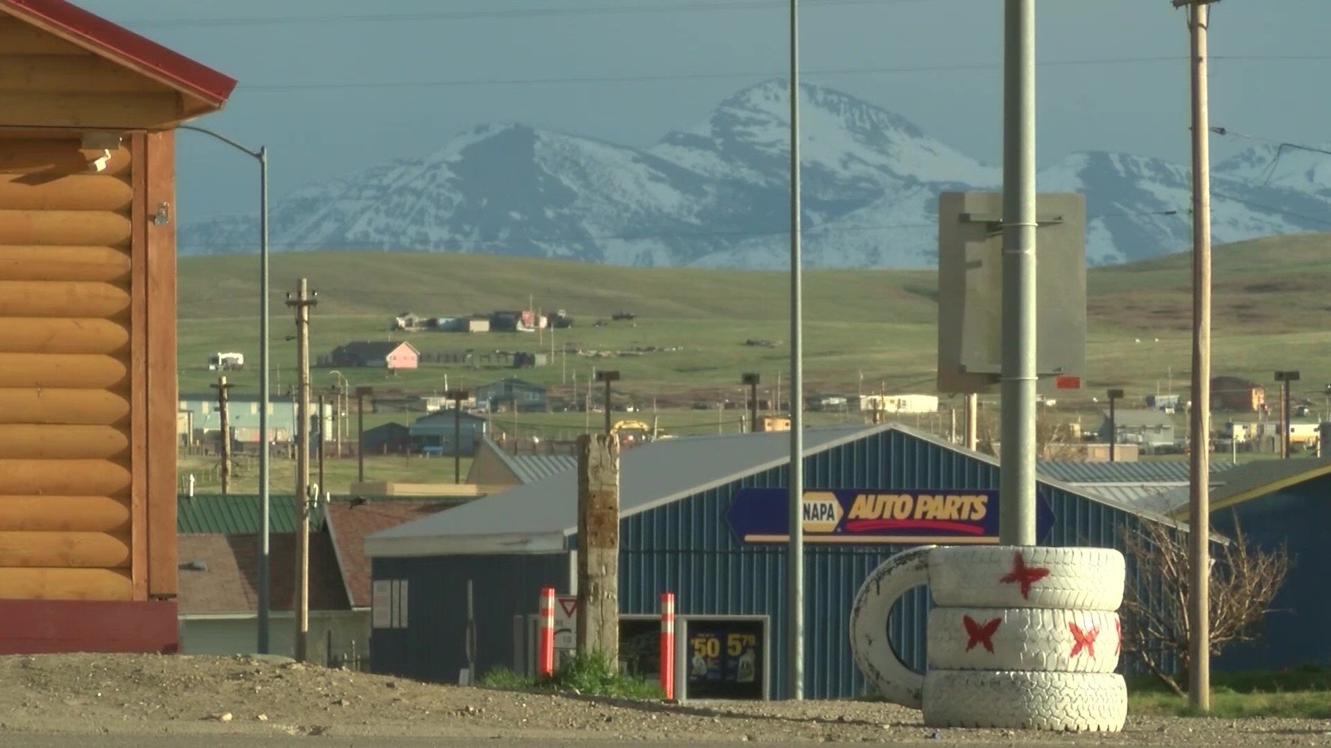 The Blackfeet Reservation in Browning (MTN News photo)