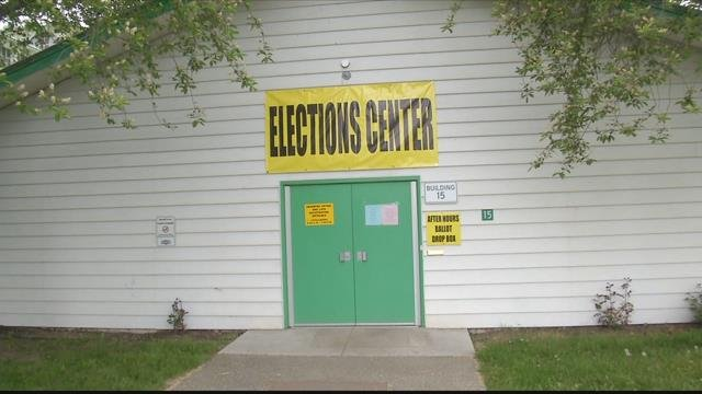The Elections Headquarters at the Missoula County Fairgrounds. (MTN News photo)