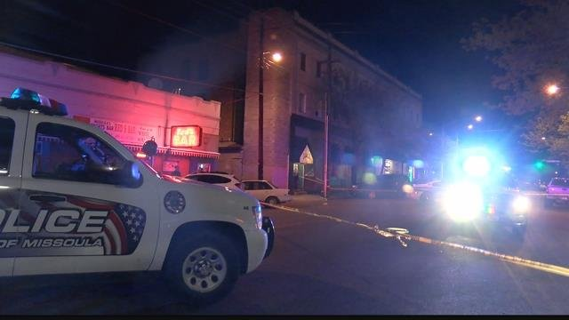 The incident happened late Thursday near the Bodega in downtown Missoula. (MTN News photo)