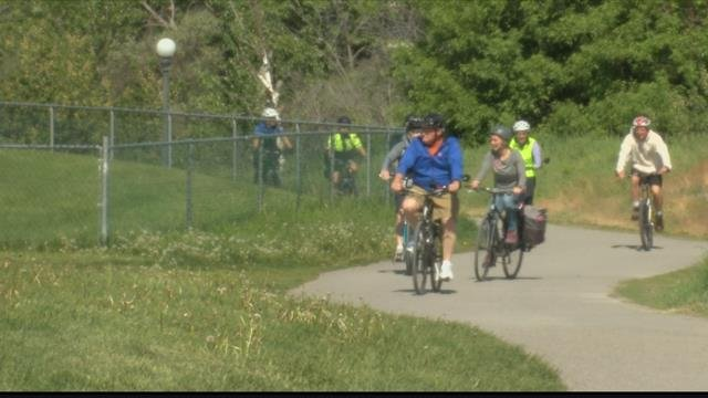 Bicyclists in the community hadthe opportunity this weekendto learn aboutdifferent trails and safety tipsduring a guided bike tour. (MTN News photo)