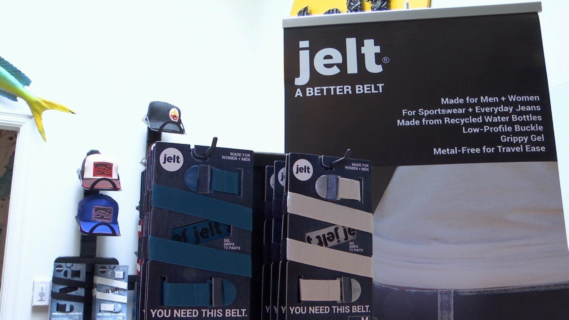 Jelt Belt's are manufactured at the Montana Women's Prison (MTN News/Paul Humphrey Photo)