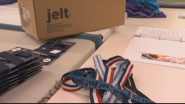 Three years ago, Jen Perry started Jelt Belt with the hopes of making her product in the state of Montana. (MTN News photo)