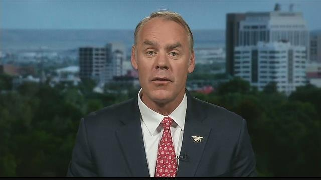 U.S. Department of the Interior Secretary Ryan Zinke (MTN News photo)