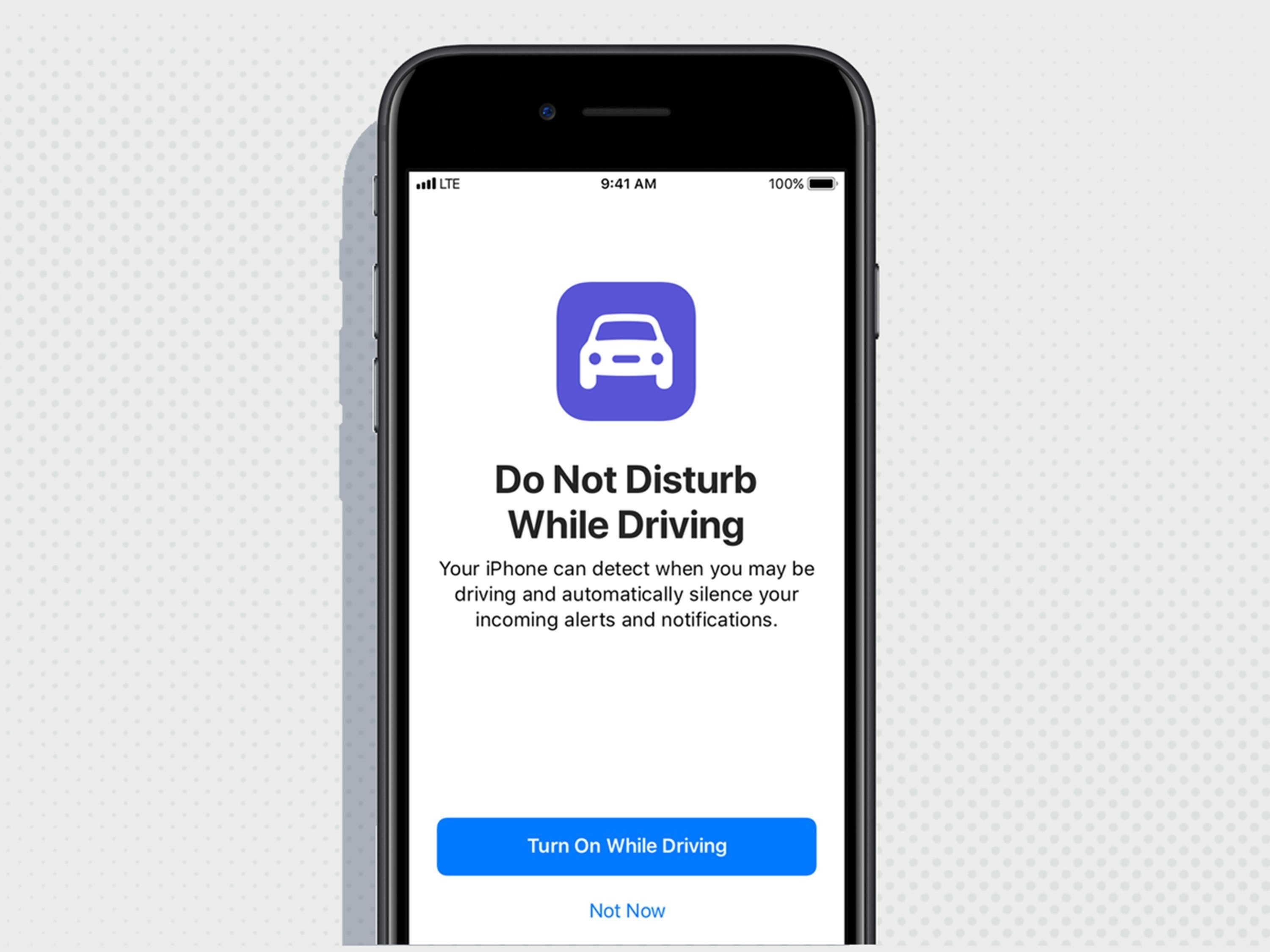 Apple makes it tougher to text and drive