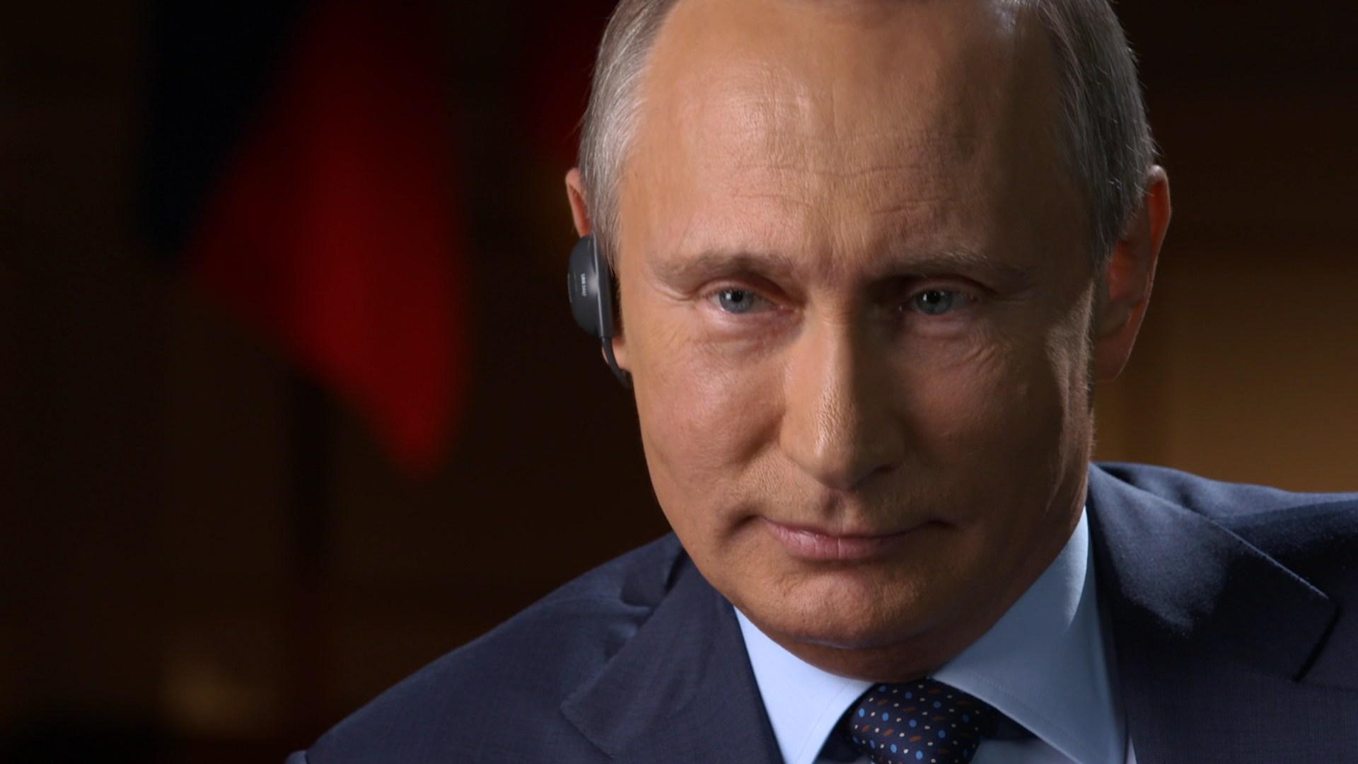 Vladimir Putin. (CBS News photo)