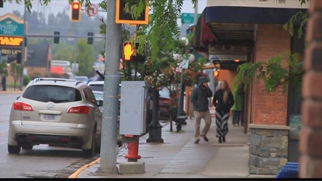 The Kalispell Bypass has led to development in the area as well as a renewed interest in downtown. (MTN News photo)