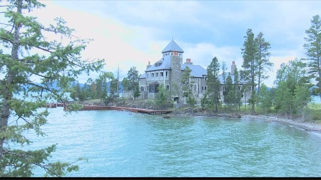 Montana's most expensive piece of real estate sits right in the middle of Flathead Lake. (MTN News photo)