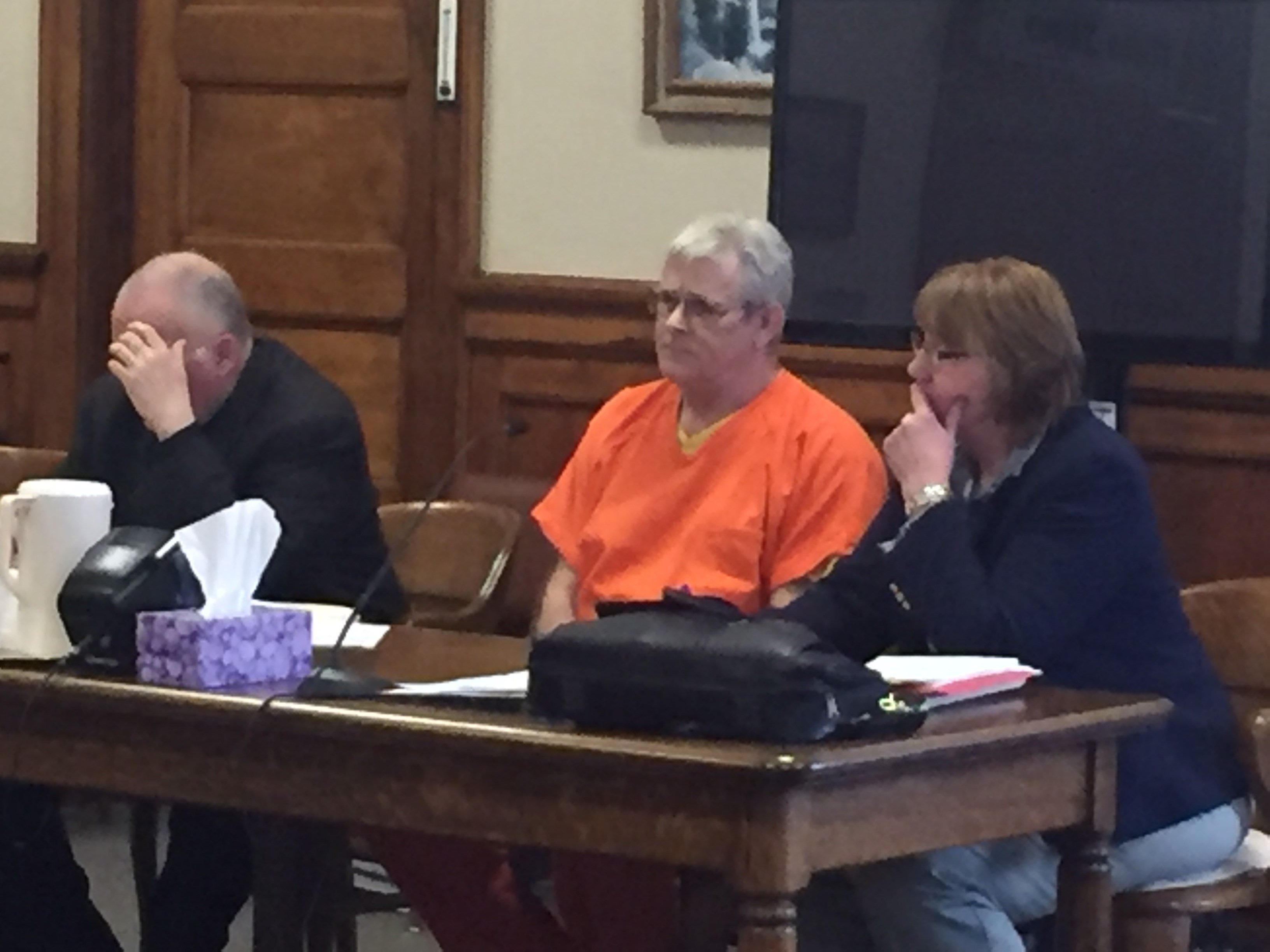 David Wayne Nelson sentenced for double murder. (MTN News photo)