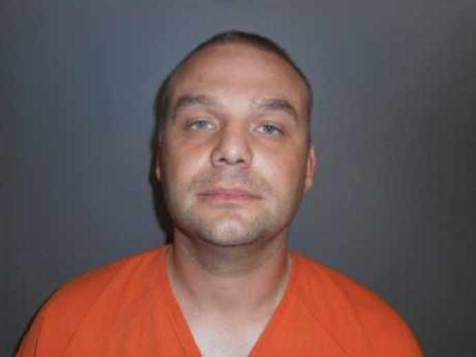 Richard Gathercole was arrested in Nebraska (Dawson County Nebraska Jail photo)