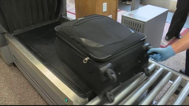 More passengers at the Kalispell airport have prompted additional equipment to be installed. (MTN News photo)