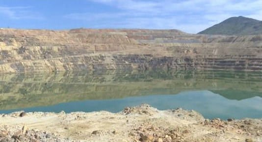 The Berkeley Pit in Butte (MTN News photo)