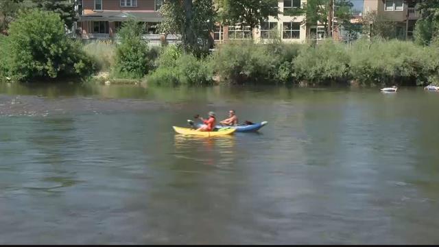 Summer along the Clark Fork River is Missoula. (MTN News photo)