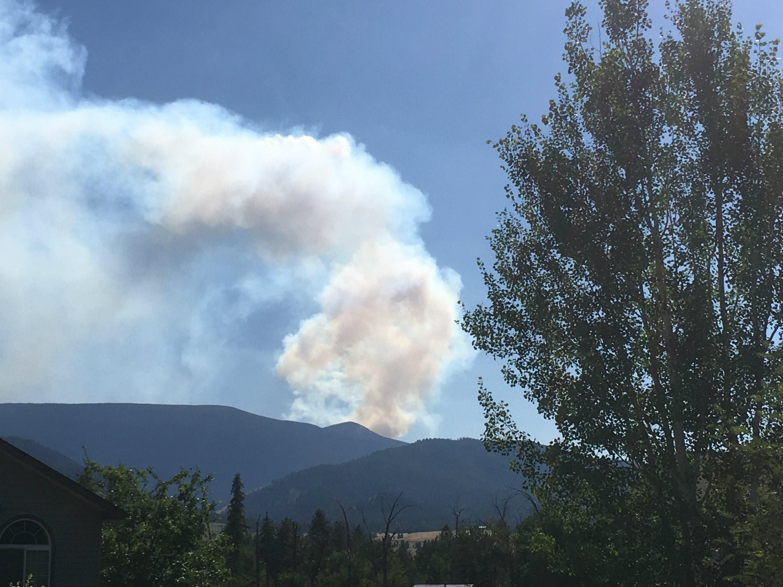 The Lolo Peak Fire (Mark Thorsell/MTN News photo)