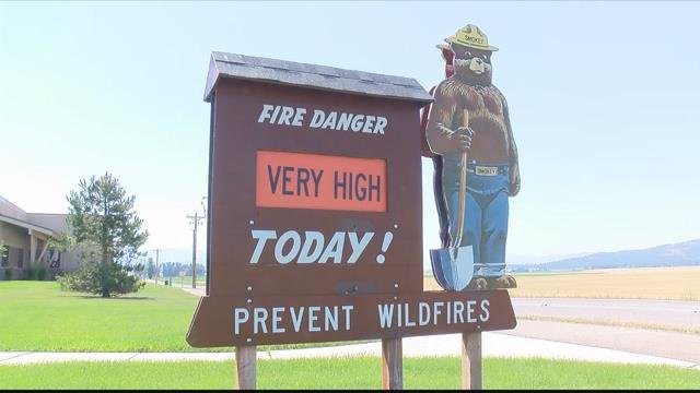 Firefighting resources are stretched thin as the fire danger rises. (MTN News photo)