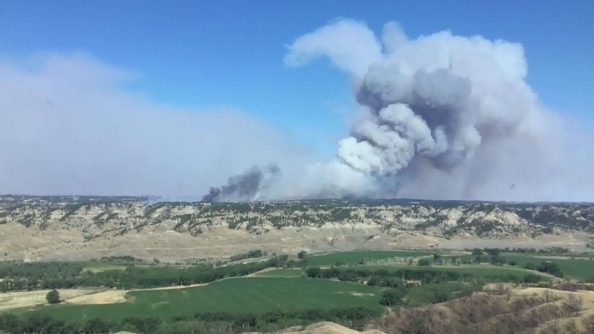 Crying Fire in Petroleum County (BLM photo)