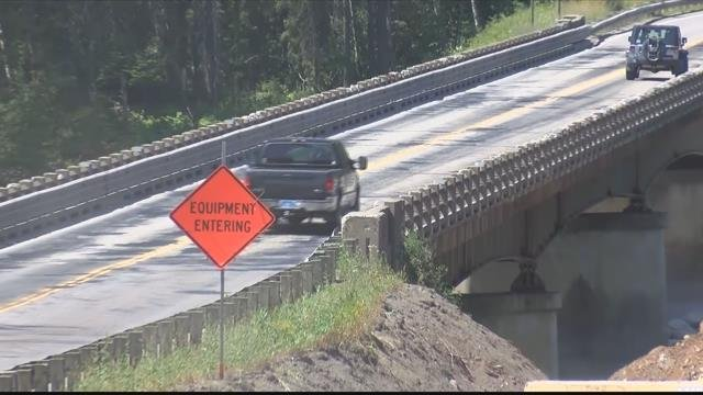 The South Fork Bridge on Highway 2 near Hungry Horse (MTN News photo)