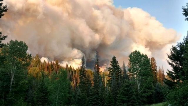 Arrastra Creek Fire. (courtesy: Inciweb)