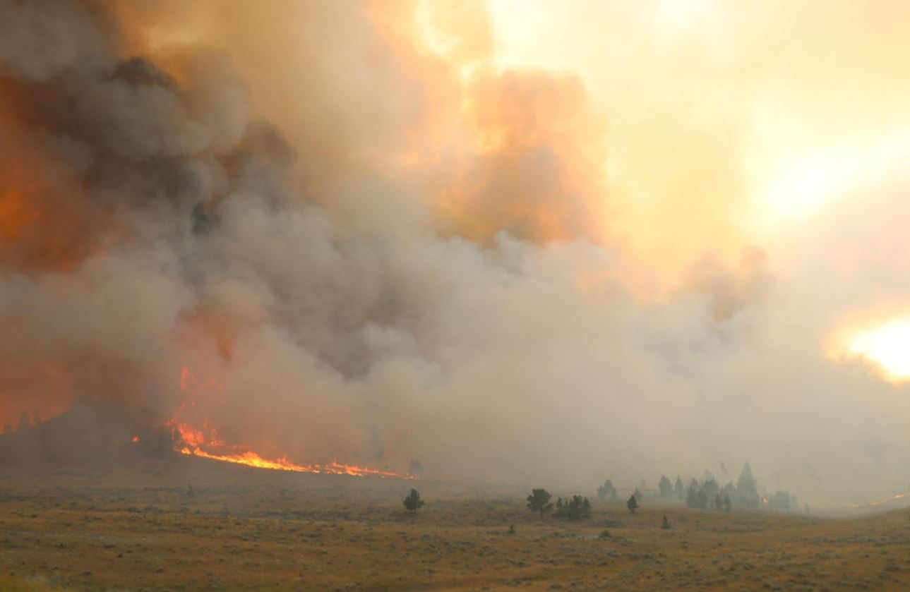 Smoke from Montana fires blanketing region